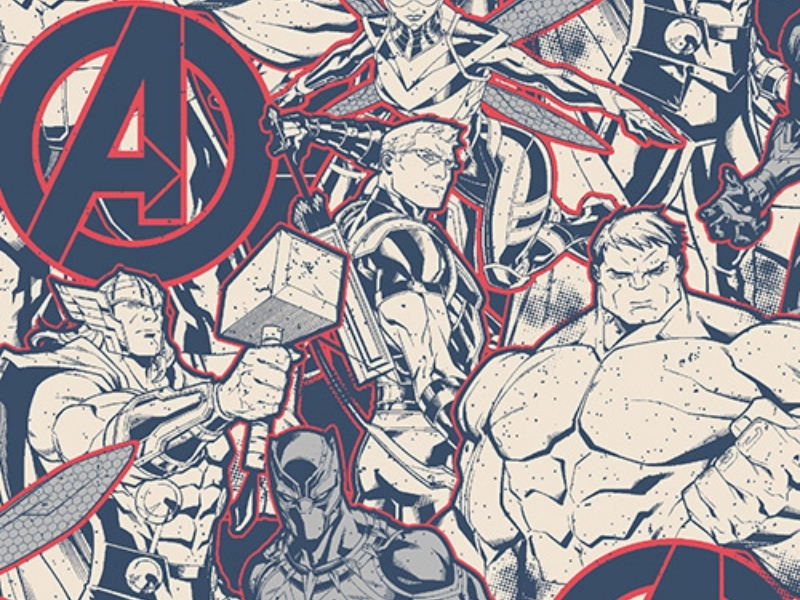 Avengers Childrens Blind